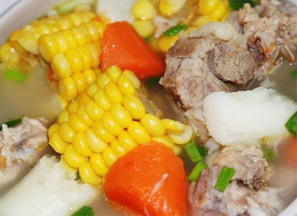 胡蘿蔔玉米排骨湯,營養豐富幫助孩子長高個 第3张