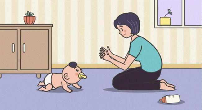 孩子爬行敏感期錯過很可惜,5種姿勢助力寶寶學爬行 第1张