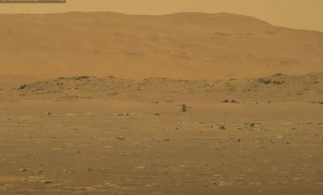 NASA一架無人直升機成為第一個在火星上飛行的機器人 第2张