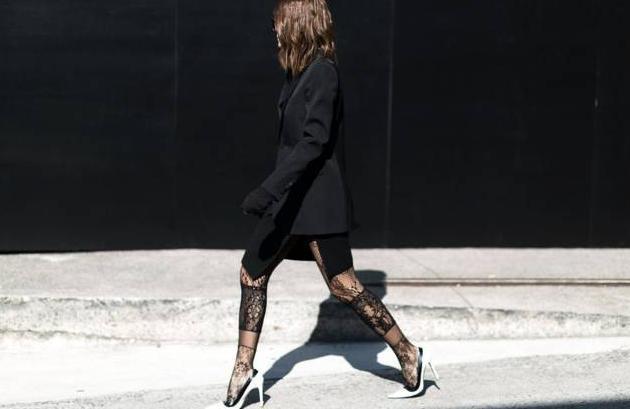 絲襪和高跟鞋怎麽搭配才好看?這兩個單品怎麽搭一起? 第5张