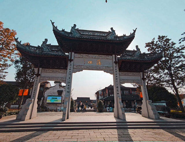 江蘇小眾景點蕩口古鎮,江南水鄉風格,自然景觀秀麗 第1张