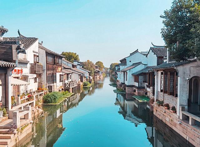 江蘇小眾景點蕩口古鎮,江南水鄉風格,自然景觀秀麗 第3张