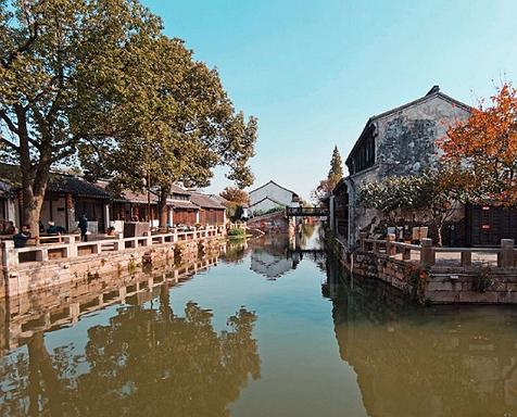 江蘇小眾景點蕩口古鎮,江南水鄉風格,自然景觀秀麗 第5张