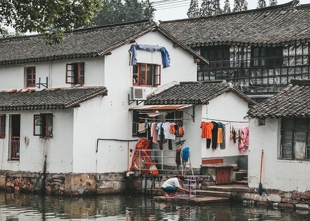 上海金澤古鎮,歷史久遠仍保持著傳統江南小鎮的風光 第1张
