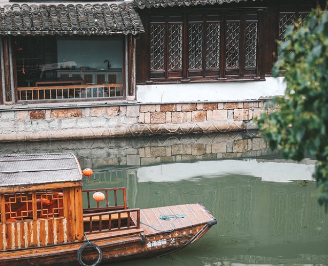 上海金澤古鎮,歷史久遠仍保持著傳統江南小鎮的風光 第3张