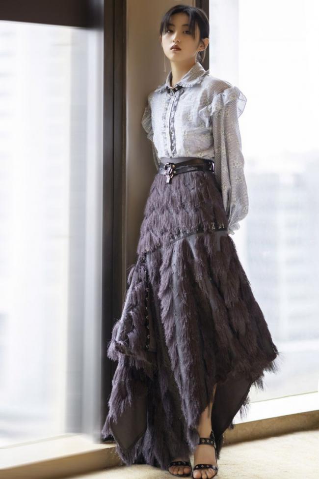 荷葉邊半裙不僅實穿度高,而且不挑身材還修飾身形 第4张
