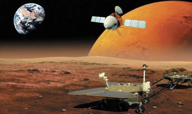 每秒墜落速度4.9公裏,祝融號成功登陸火星 第1张