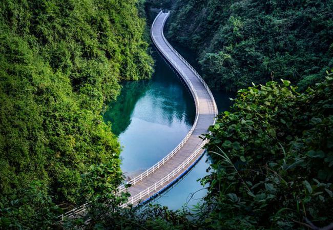 北緯30度中國最美的地方之一:恩施大峽谷 第7张