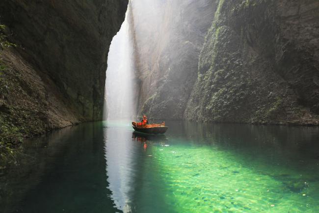 北緯30度中國最美的地方之一:恩施大峽谷 第8张