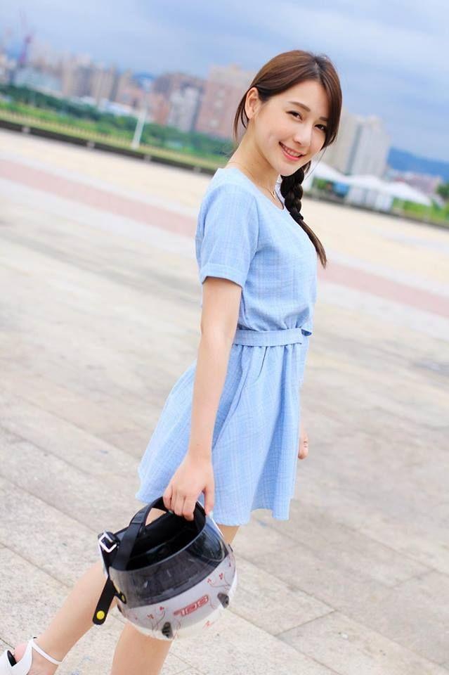 """臺灣正妹網紅陳樂樂,被網友們稱呼為""""微笑女神"""" 第5张"""