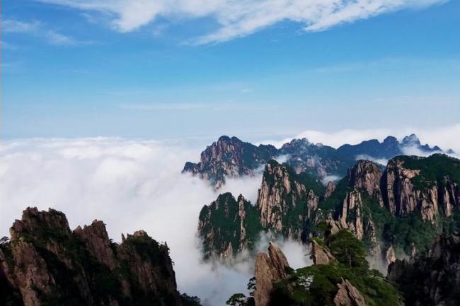 安徽黃山風景區,人們贊不絕口地位超過五嶽 第2张
