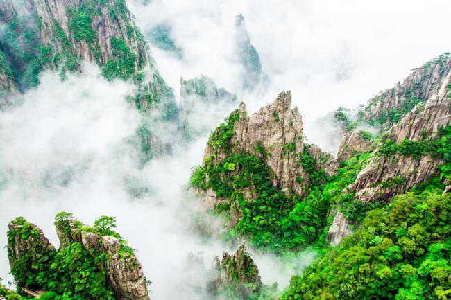 安徽黃山風景區,人們贊不絕口地位超過五嶽 第5张